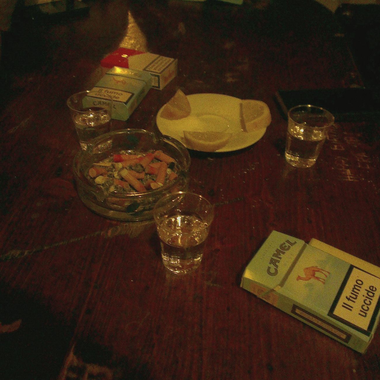 Cigarette  Tequila Shots Salt Lemon Vices Fun Birthday Eighteen  Porcoddioo