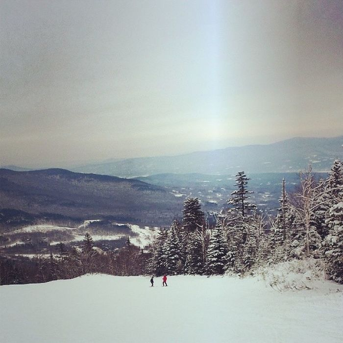 Stowemt AllThingsBrightandBeautiful Stowe Vt Vermont Snow Mountains Snowboarding Winter