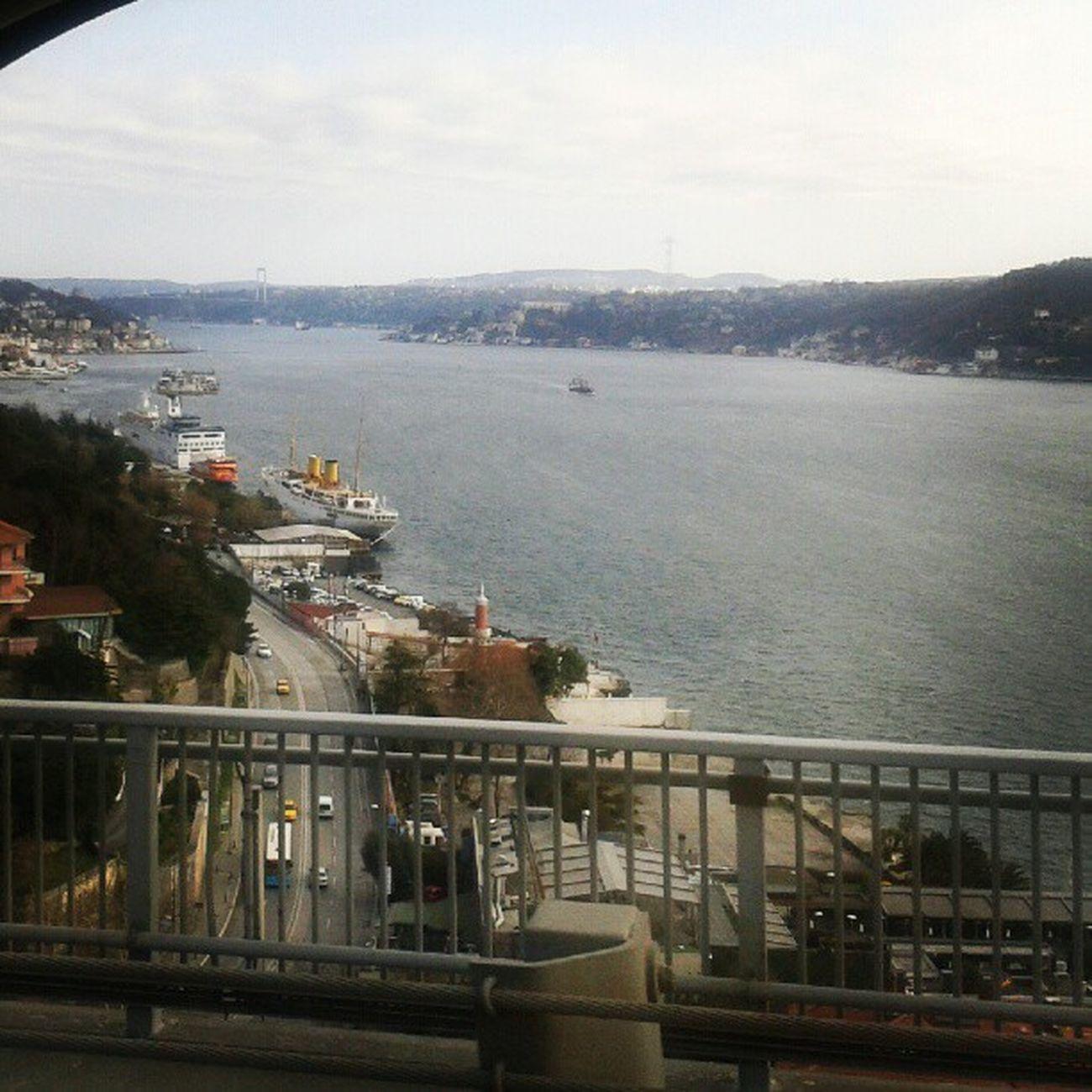 Bosphorus Bosphorusbridge Frombridge Istanbullife Istanbul Travel Journey View Nice Türkiye Turkey Instagram Insta Instaturkiye Boğaziçi Bogazkoprusu Gezi