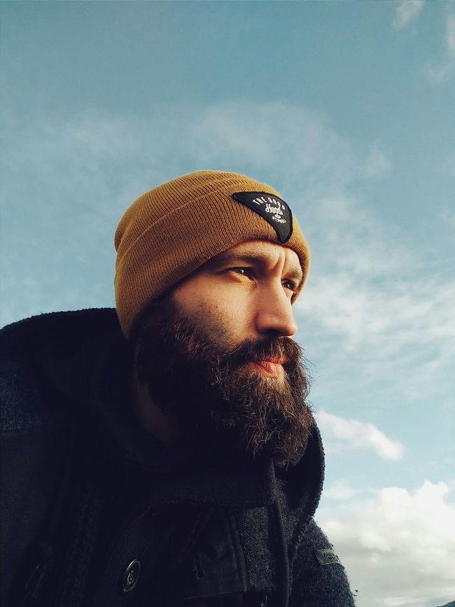 Commercial me Whale Trail Tour Self Portrait Norway Bidges & Sons Beard Portrait