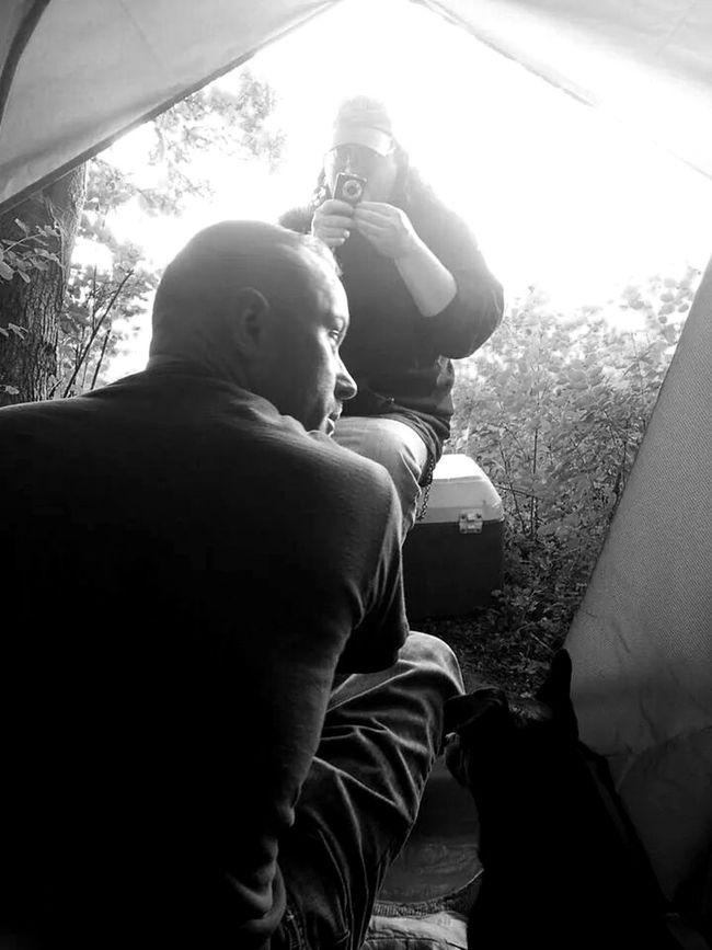 Josh and Devon when we camped at Barn Bash Camping Camping Out Camping Trip! Going Camping