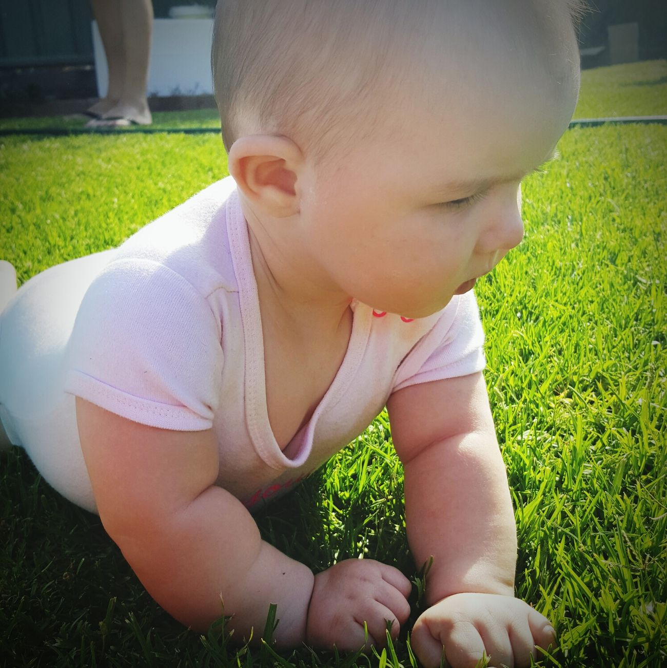 Baby Outdoors Grass BabyGirl ❤ Iloveyou Beautiful ♥ Nature_perfection