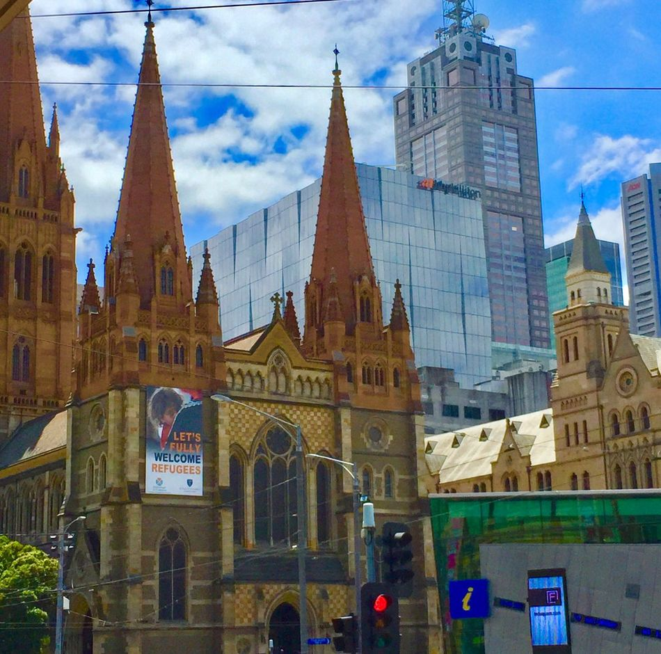 Architecture Building Exterior Built Structure Sky Cloud - Sky Tower Travel Destinations Place Of Worship City Religion Day Outdoors Skyscraper No People EyeEm Best Shots EyeEmNewHere Check This Out Cityscape Church