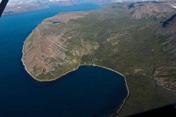 Grunnavík Plane View Landscape Nature Outdoors Dalbær Westfjords Iceland Snæfjallaströnd
