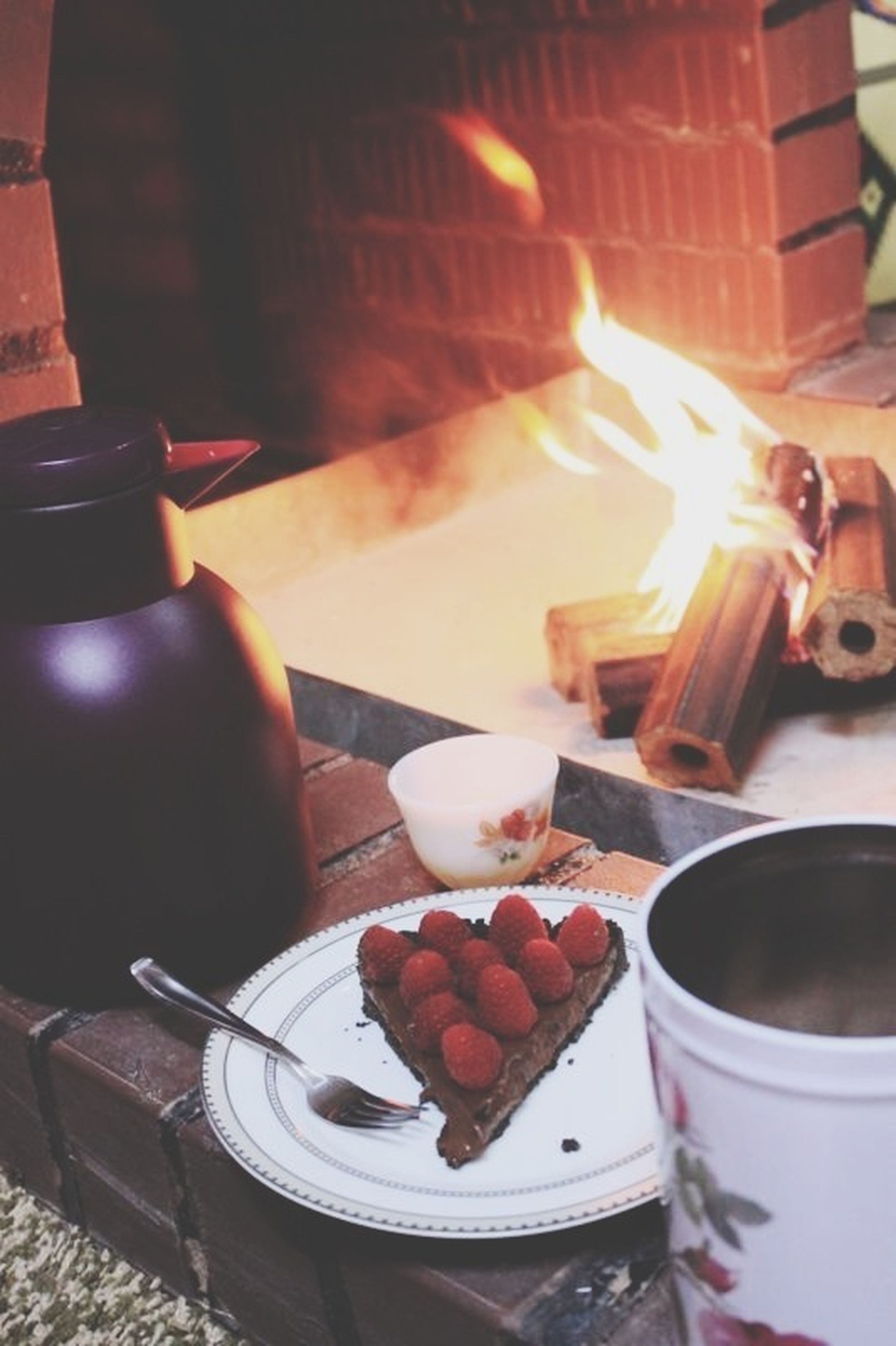 food and drink, indoors, freshness, food, table, heat - temperature, still life, sweet food, close-up, flame, burning, indulgence, dessert, ready-to-eat, candle, fire - natural phenomenon, cake, unhealthy eating, preparation, high angle view