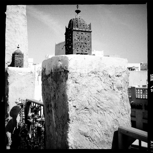 View from the roof top Streetphotography Hipstamatic AO DLX Film Blackandwhite