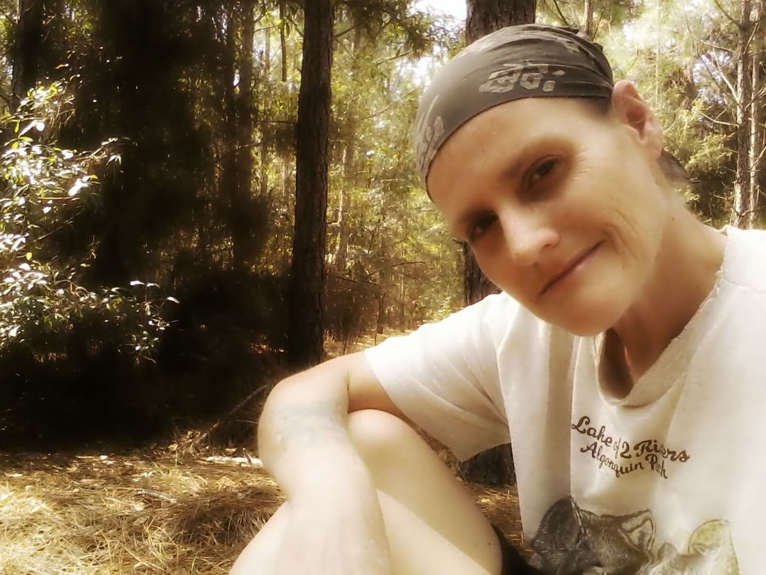 Cheese! That's Me chillin' in my backwoods yesterday on 3/5/15 Enjoying Life Taking Photos