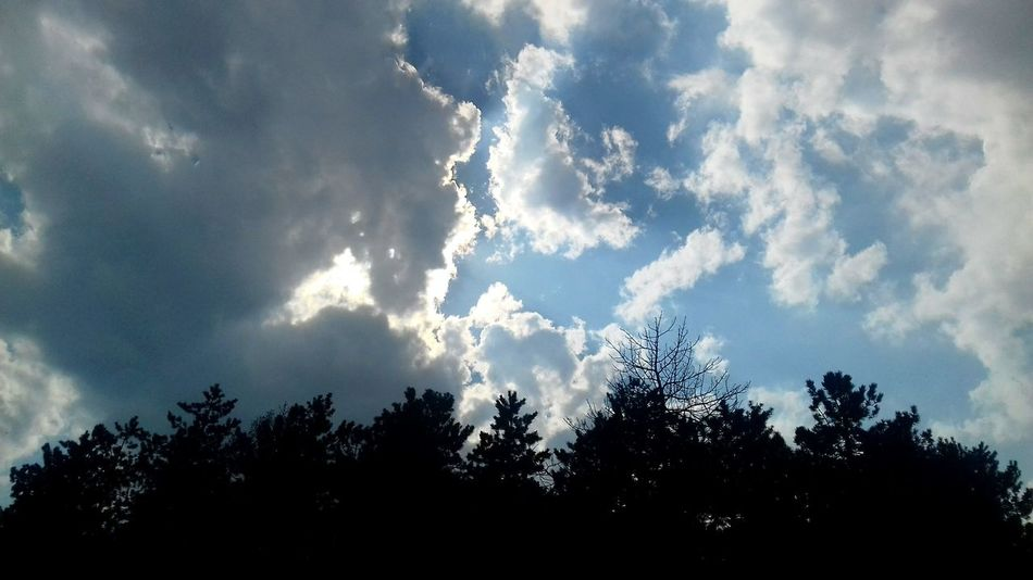 👌🌏 Cloud - Sky Nature Sky Outdoors Beauty In Nature No People Calm Sun