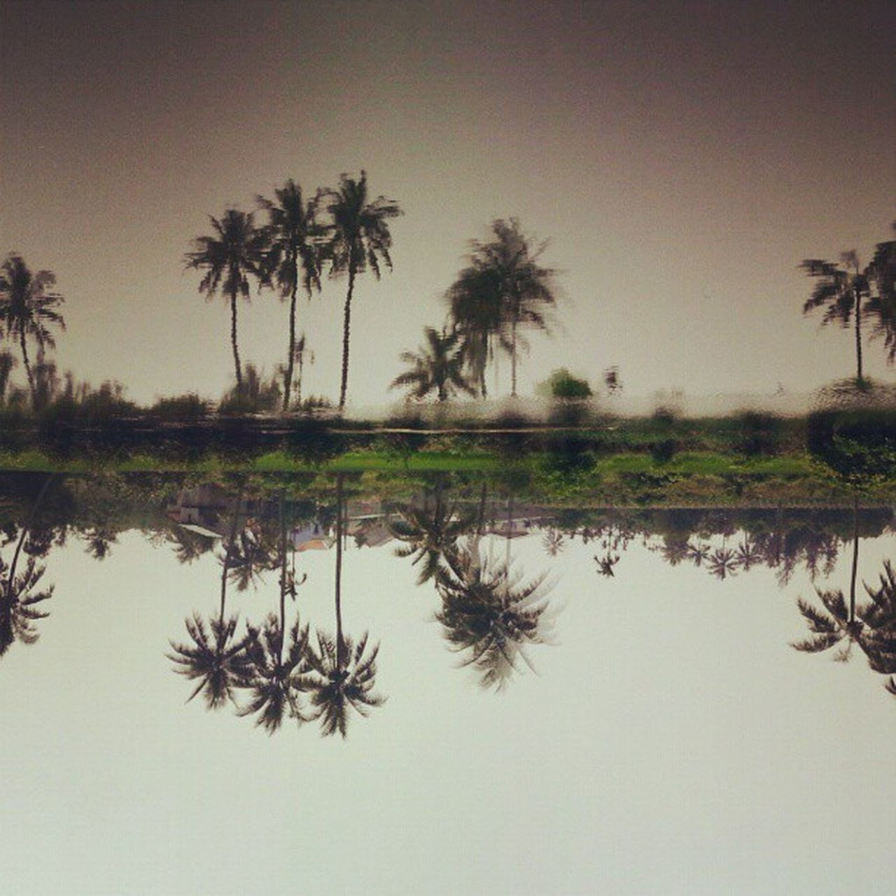Reflection Hoianriver Vietnam Southeastasia Travel