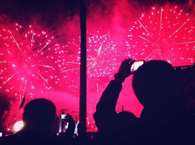 Happynewyear2016 Fireworks happy Hello World Happy People Great Atmosphere