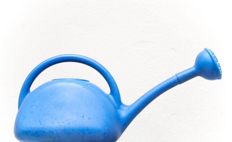 Watering can Blue Garden Path No People Regador Watering A Plant Watering Can Watering Plants Wateringcan White Background