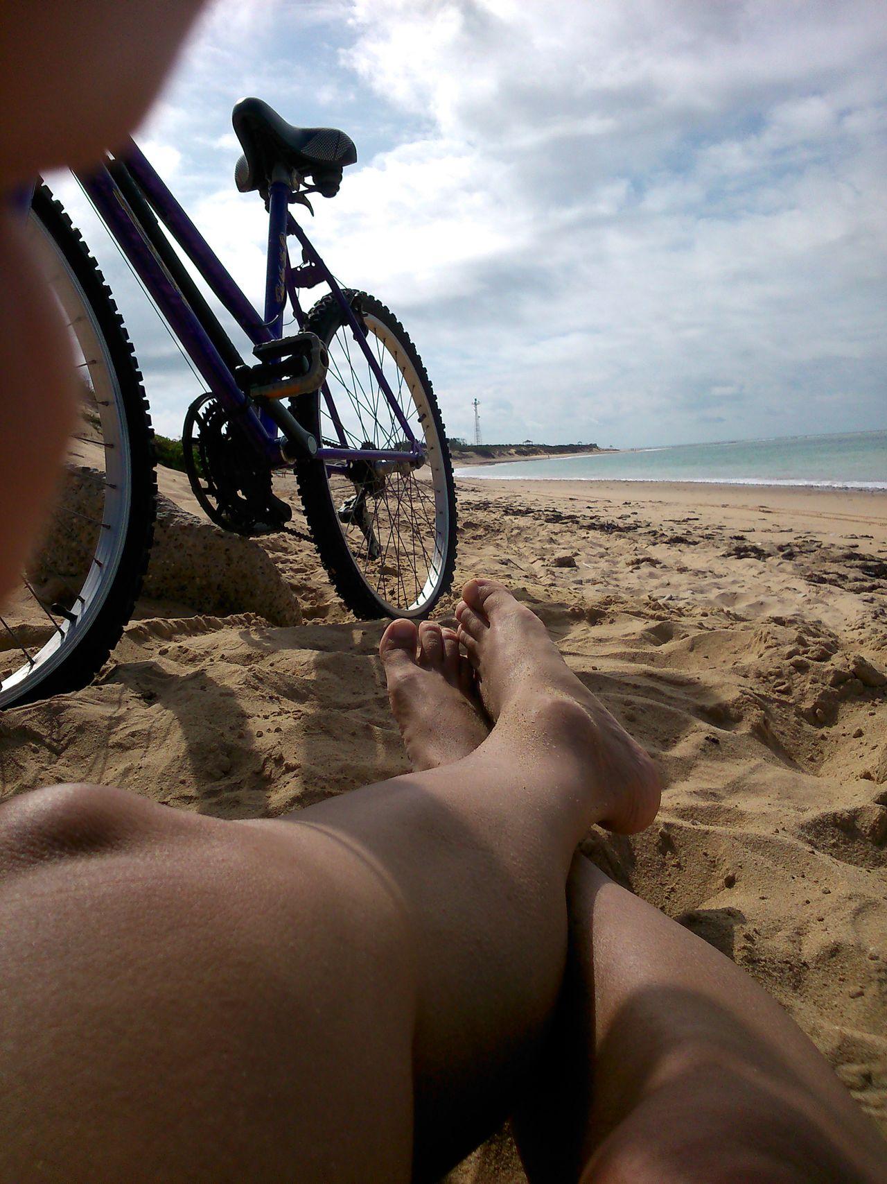 Beautiful stock photos of sunny, Barefoot, Beach, Bicycle, Cloud - Sky