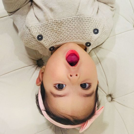 EyeEm Selects Looking At Camera Portrait Real People Indoors  Cute Childhood Lying On Back Front View One Person Close-up Human Face