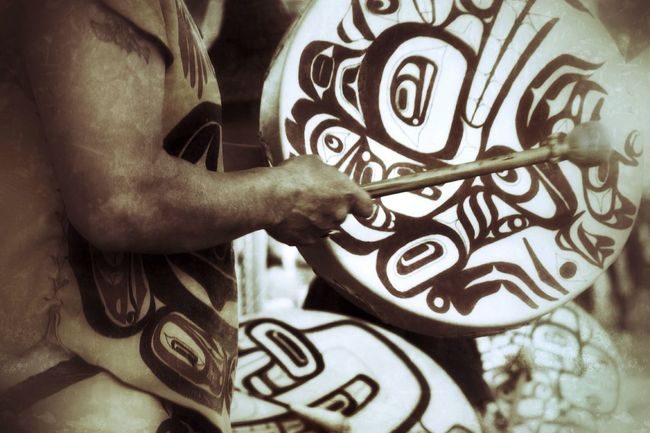 Haida - indigenous people of the Pacific Northwest Coast of North America. EyeEm Masterclass Shootermag AMPt Community Show Me Your Sepia