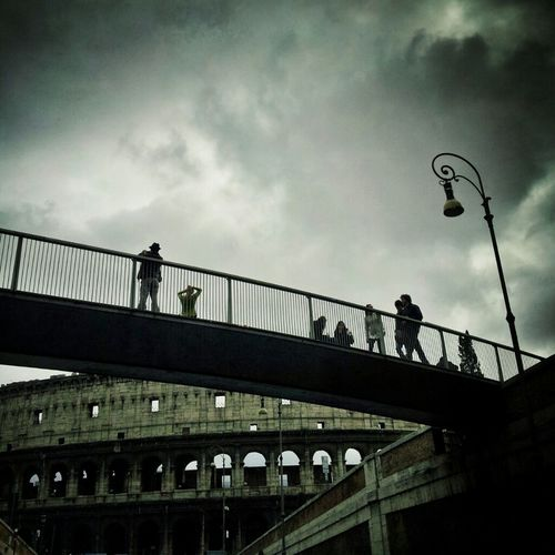 Street Photography Rome Roma Colosseo Snapseed