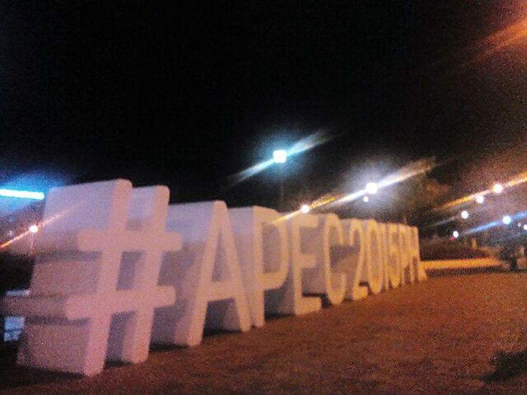 APEC 2015. It's a little blurry, sorry 😅😊😊