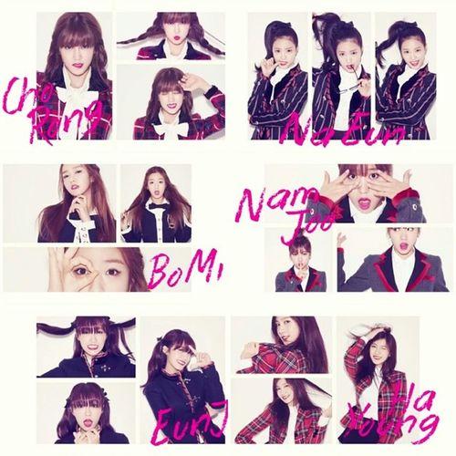 Apink Beautiful Gergous Talented kpop koreangirls korean southkorea chorong bomi eunji naeun hayoung namjoo [CAPS] 'Pink Blossom' Mini Album Video Teaser : Apink