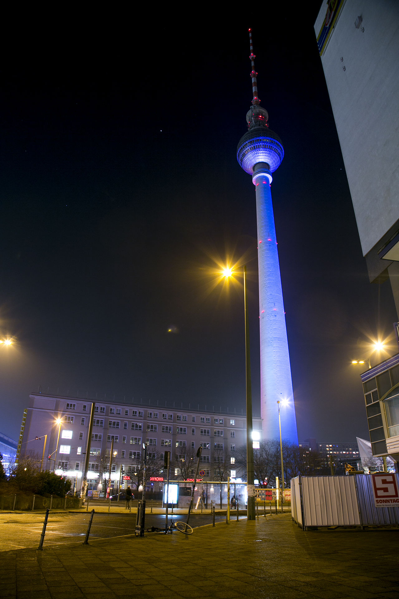 Alexanderplatz Alexanderplatz Berlin Berlin Berlin TV Tower City Communication Long Exposure Night Outdoors Tall - High Tower Travel Destinations TV Tower