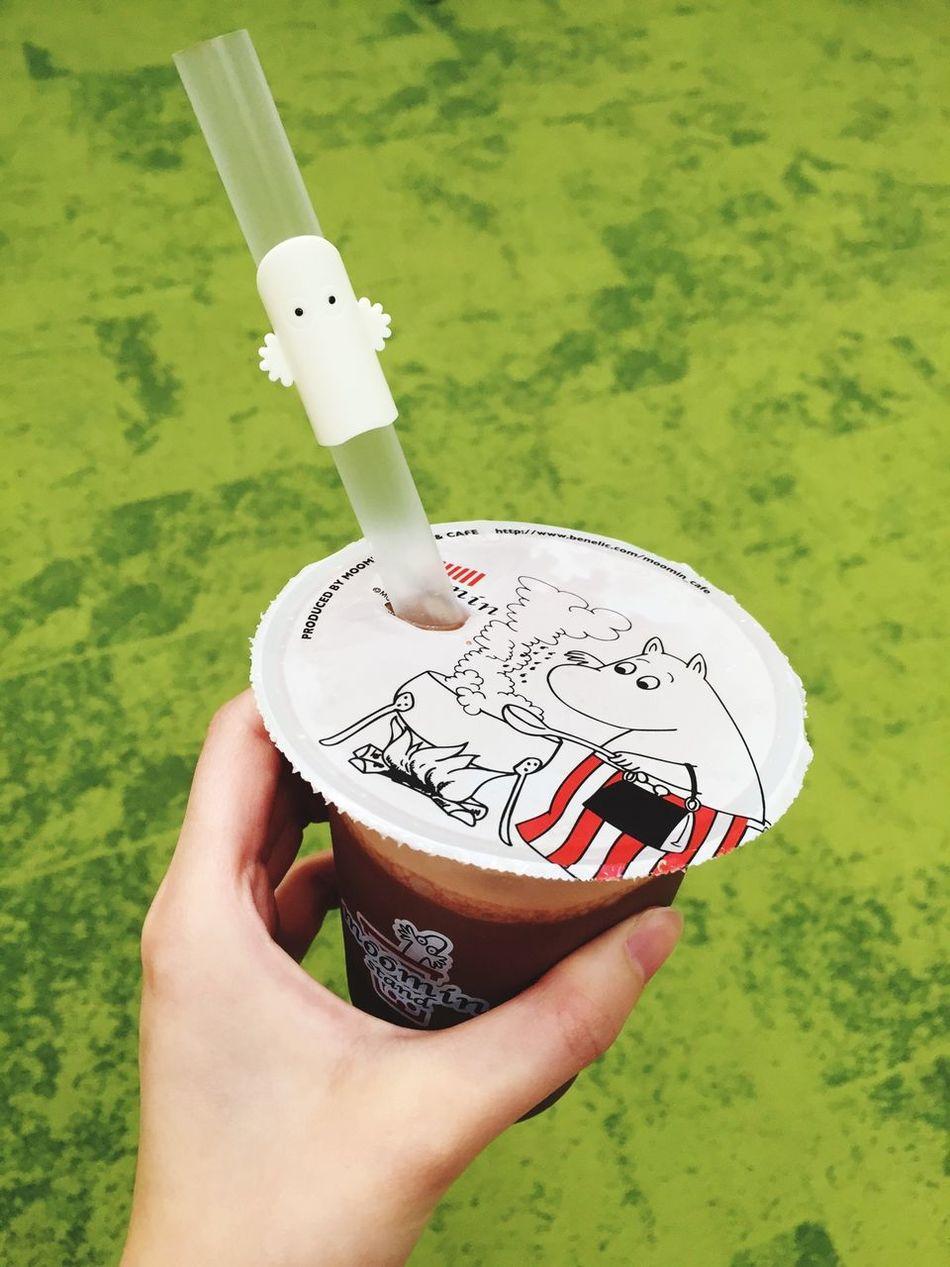 可愛ぃし美味しぃタピオカ♡ ムーミン ニョロニョロ Moomin Tapioca