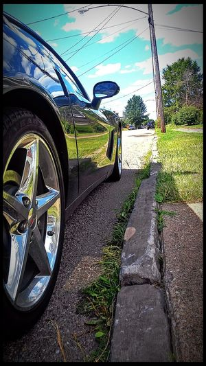 Hanging Out Check This Out Reflection Photography Beautiful Day This Week On Eyeem Clear Blue Low Angle View Sports Car Sunnyday☀️
