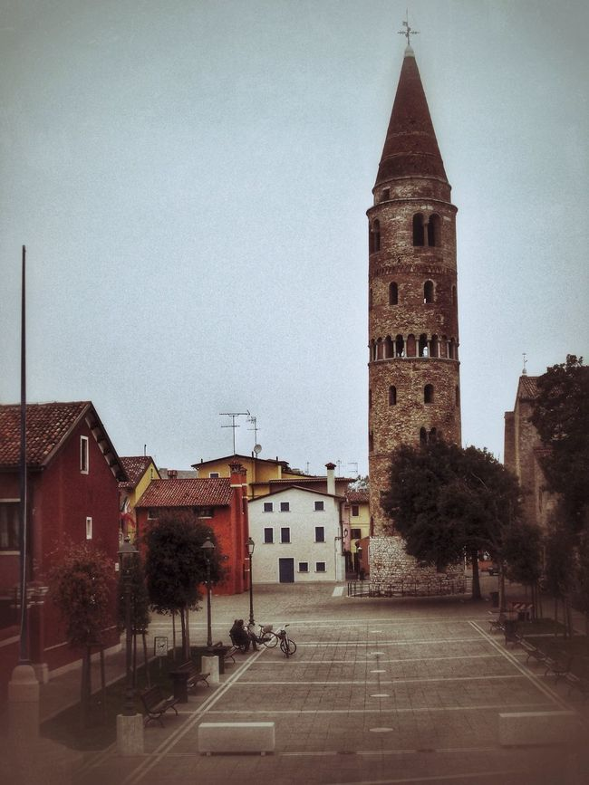 Caorle, autunno 2016. Architecture Building Exterior Built Structure Outdoors Still Life Capture The Moment Photography Landscapes Autumn Bell Tower Sky Day EyeEm Gallery Scenics Real People Italy