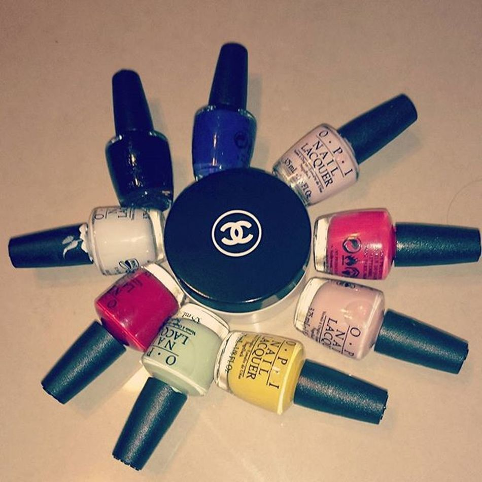 What more could a girl ask for? Presents Greatfriends  Memories Chanel opi nailpolish taiwan