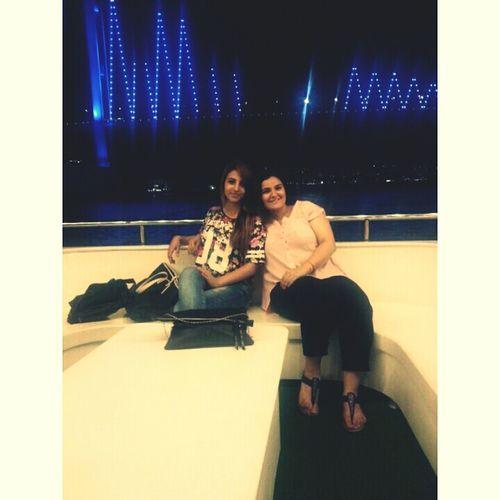 Friend!❤ Istanbul #bogaz Night Lights Night ✌