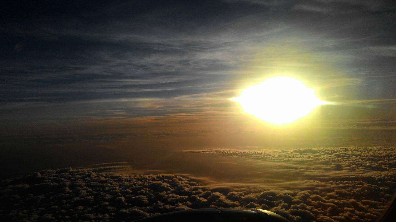 Skyporn Sunset Sunlight Sunshine