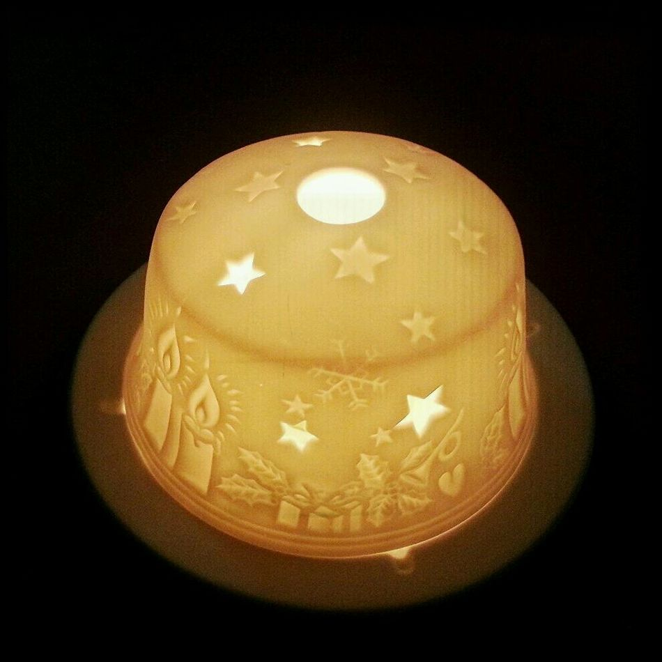 Ceramic Candle Candlelight Relaxing