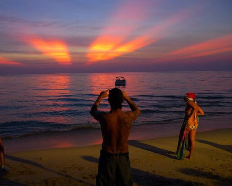 Sunset Thailand What Does Peace Look Like To You? Lost In Wonderland Skyline Sunset Thailand
