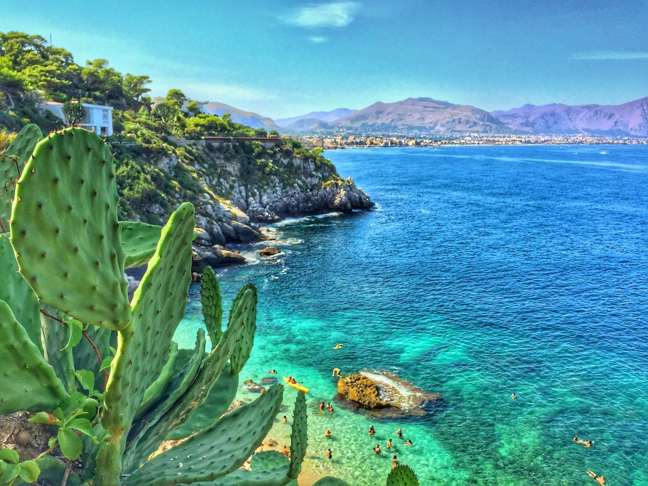 Sicily Nature Sea Water Tranquility Beauty In Nature Outdoors Day Blue Cactus Sky Plant Amazing MyArt Visual Feast Neighborhood Map The Great Outdoors - 2017 EyeEm Awards The Portraitist - 2017 EyeEm Awards EyeEmNewHere EyeEmNewHere BYOPaper! Live For The Story Out Of The Box EyeEmNewHere