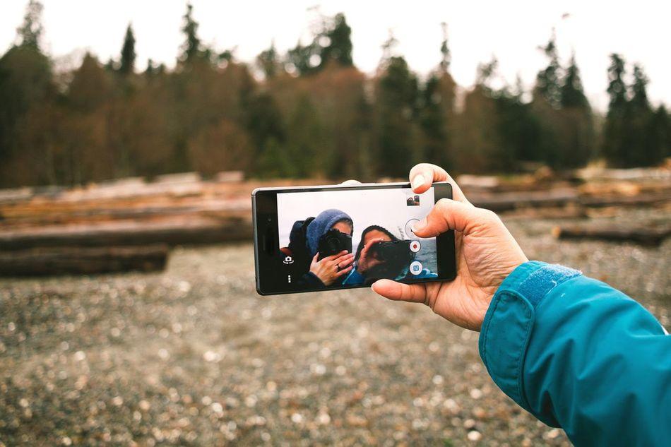 Camera-Phone Mobile Conversations Photography Themes Selfie Smart Phone Young Adult Camera - Photographic Equipment Wanderlust EyeEm Best Shots PNWonderland PNW Forest Rainy Days Uniqueness