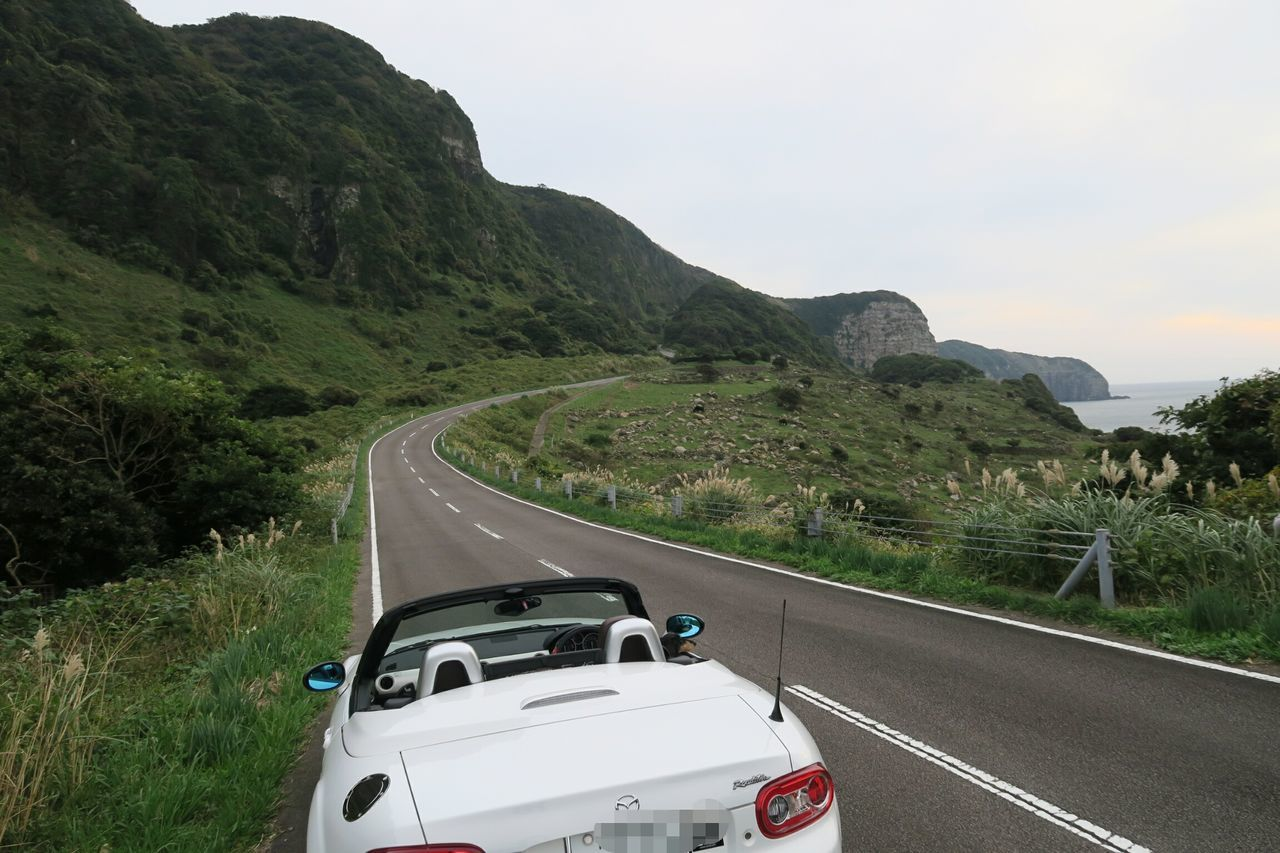 Transportation Rural Scene Driving Landscape Road Travel Car Nature Vacations Beauty In Nature Outdoors Day Nature Beautiful View Sea Islands Driving Mazda Mx5 Mx5 Miata ロードスター Roadster 生月島 平戸 長崎