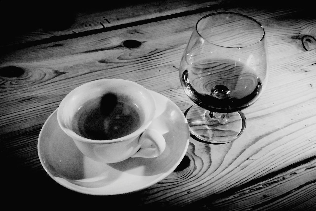 Coffee and Metaxa