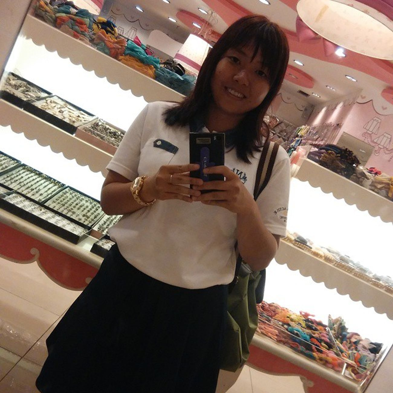 Selfie Today Instamagz Instadaily at Mall