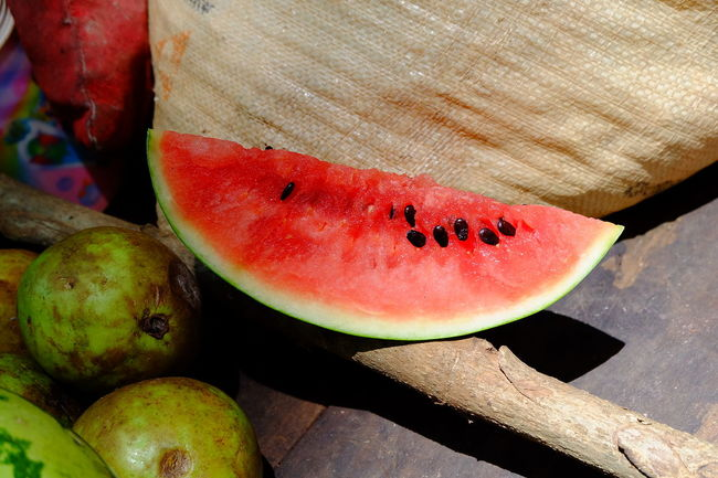 Close-up Day Food Food And Drink Freshness Fruit No People Organic Red Vibrant Color Water Melon