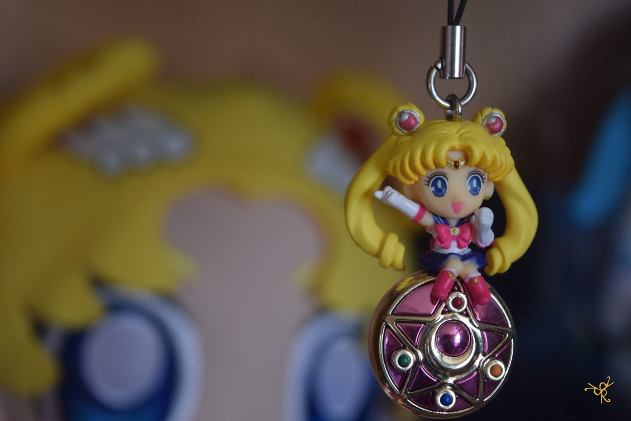 Anime Art Art And Craft Celebration Close-up Creativity Decoration Figurine  Focus On Foreground Hanging Human Representation Manga Moon Multi Colored No People Sailor Sailor Moon Sailor Moon 90s Sailormoon Selective Focus Still Life Toy Tv Tv Series Tvseries