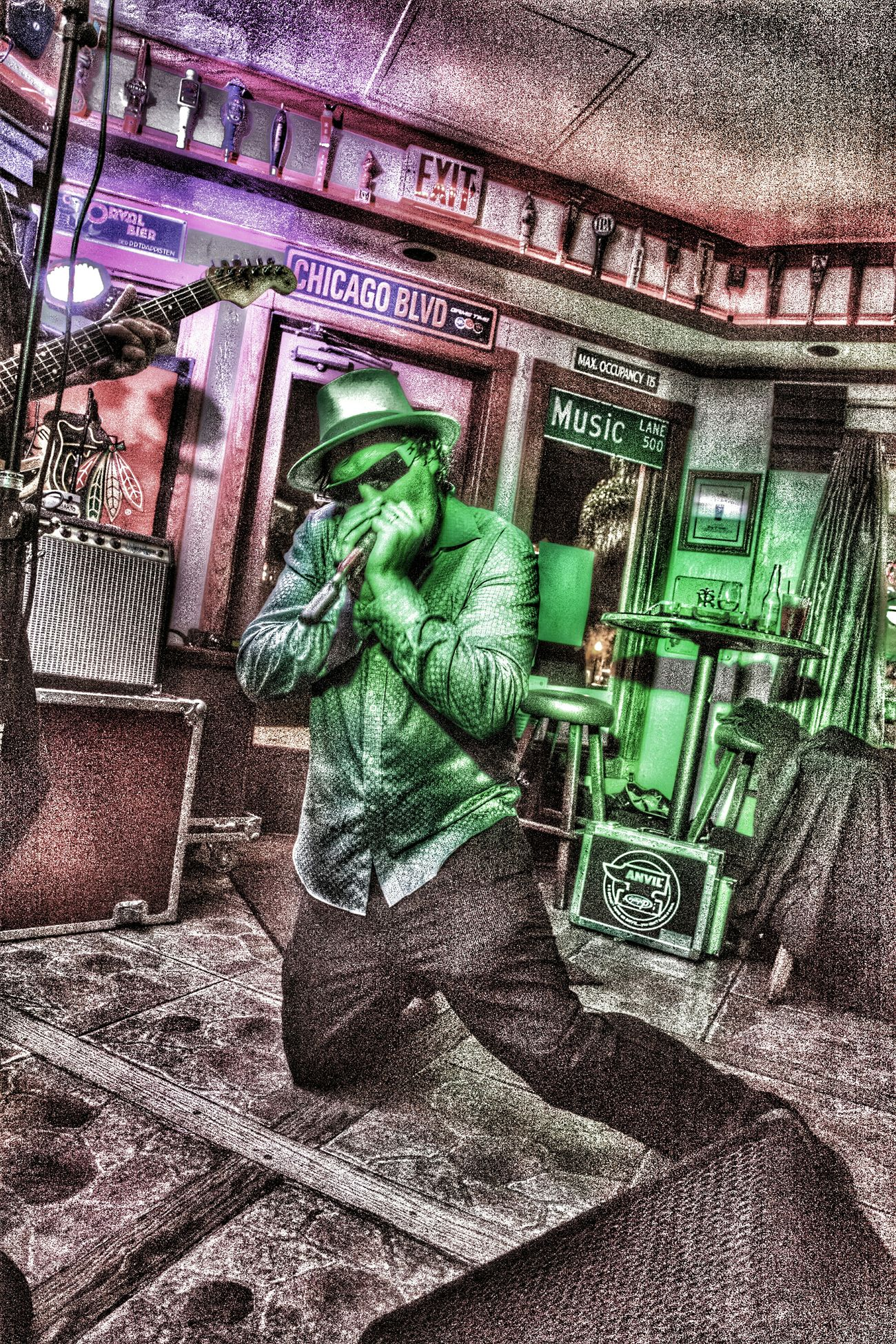 Zack cole special effects Taking Photos Enjoying Life Band Player San Diego Ca Special Effects