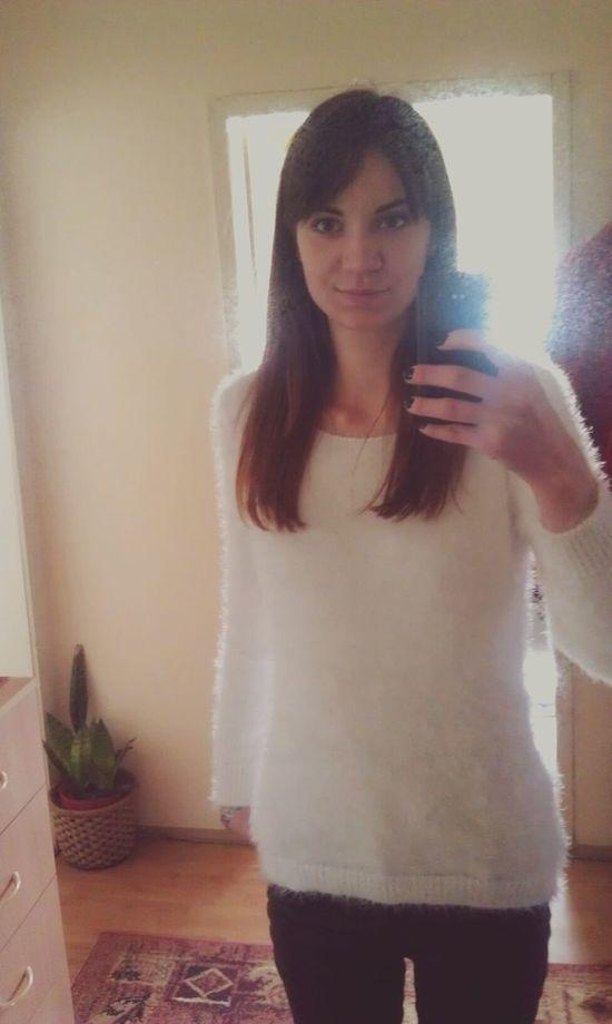 SelfieInMirror Going To School Hi! That's Me Sunny Day