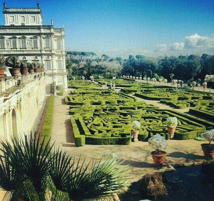 Villa Pamphili Palazzo Labirinto Labirint Palace