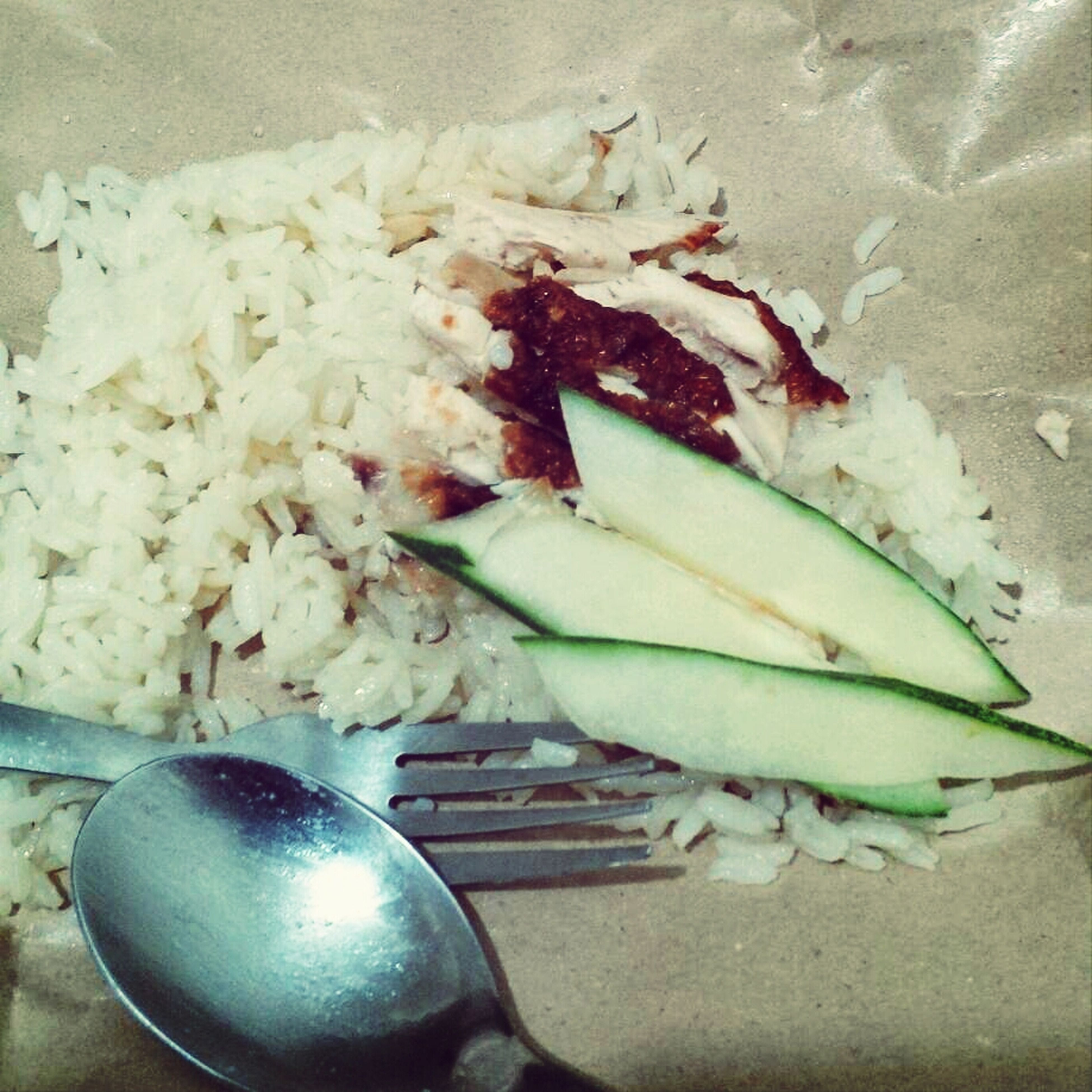 the legit chicken rice :)