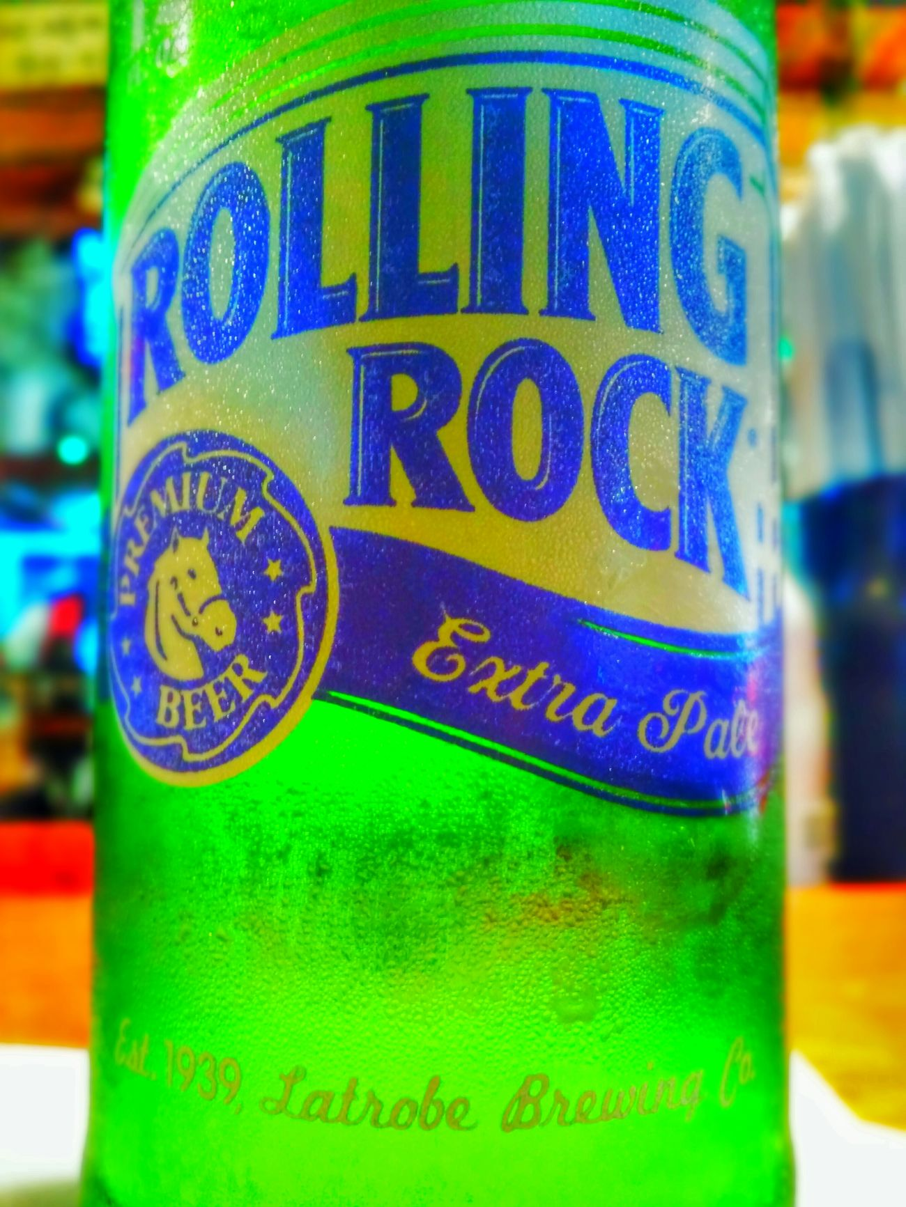 Rolling the rock - Drinking Rolling Rock With Friends