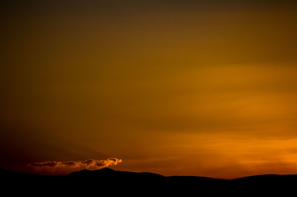 Soft Dream.. Shiraz, Iran Scenics Abstract From My Point Of View Freedom Dramatic Sky Nature Sky Landscape Outdoors Wide Colors Colorful Majestic Sunset Beauty In Nature Orange Color Sunset_collection No People 43 Golden Moments Hidden Gems  Minimalist Lonely