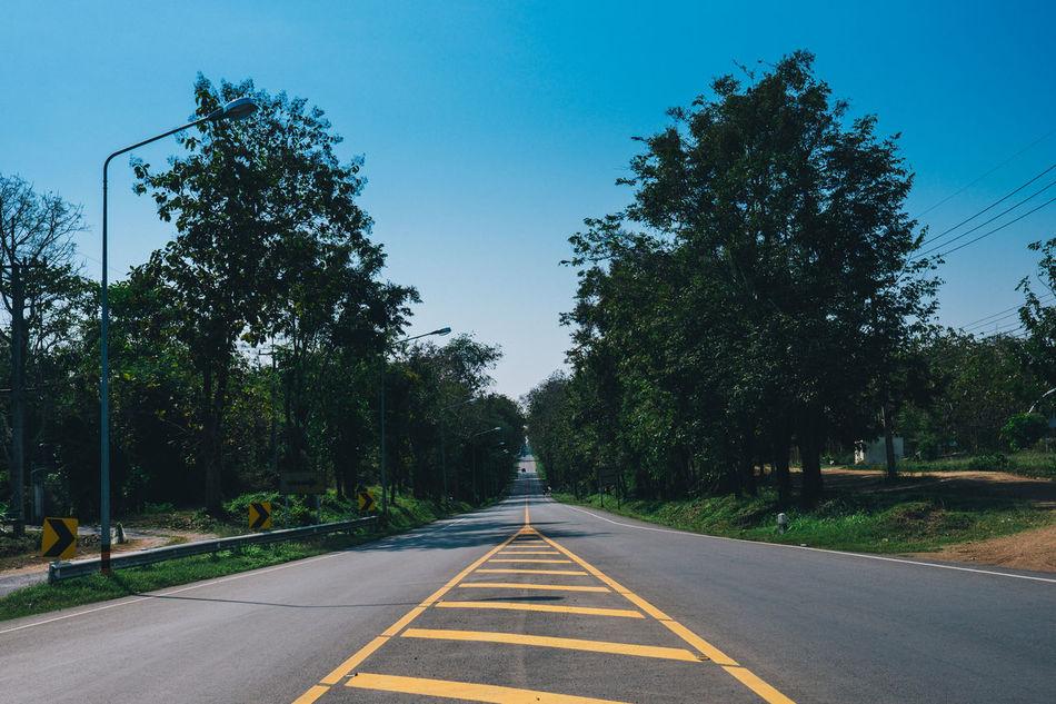 Classicchrome Empty Road Fujinon23 Fujixt10 Nature No People Outdoors Road Sky The Way Forward