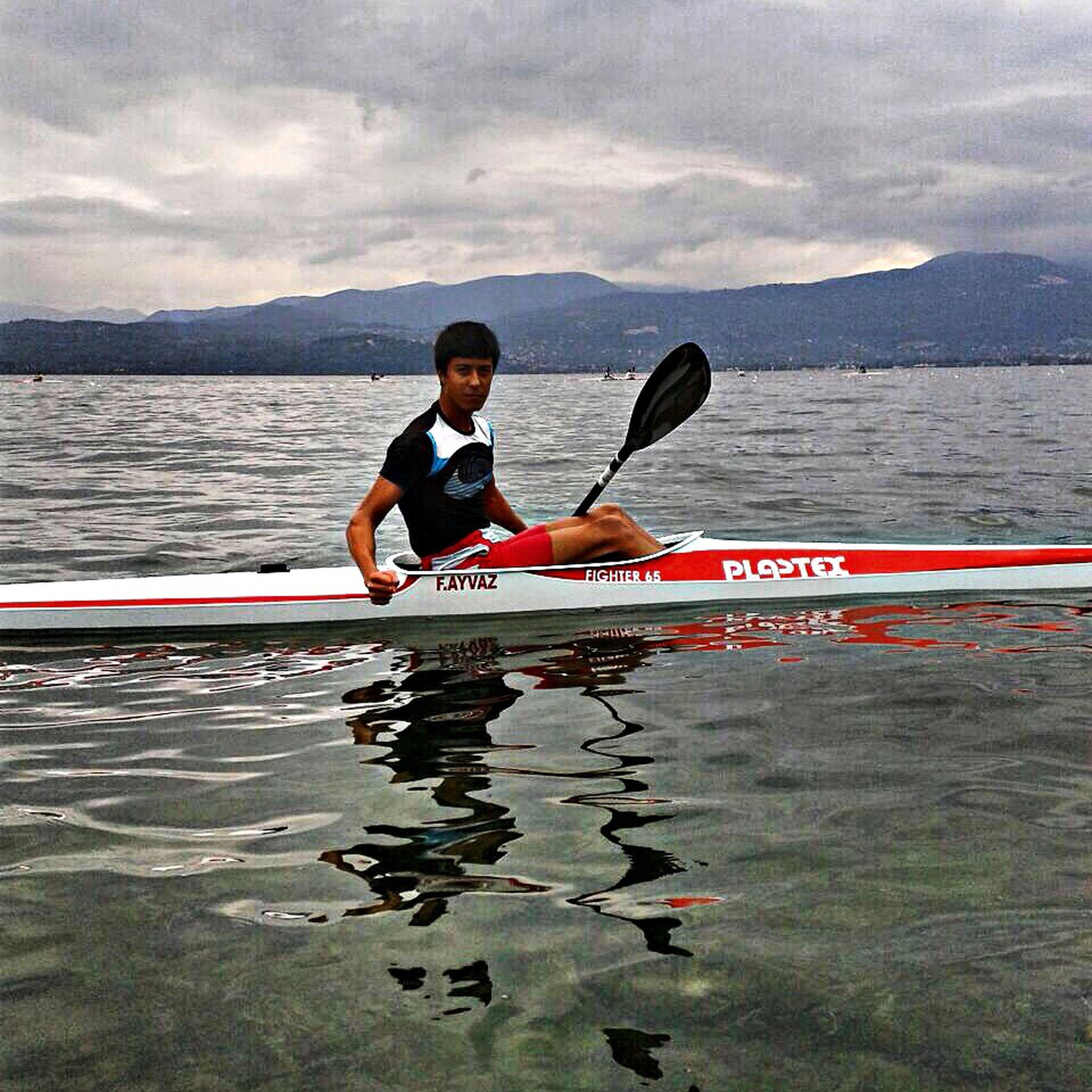 Canoe kayak racing