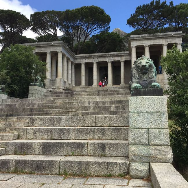 Rhodes Memorial Cape Town Rhodesmemorial architecture History