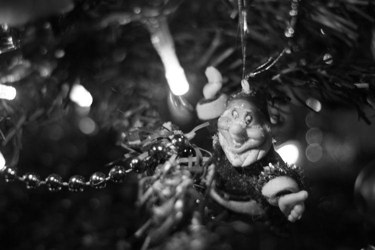 Christmas Soon Christmas Tree Happy Time Family Time Winter Home Sweet Home Pressée Canonphotography Noir Et Blanc Decoration Guirlande 🎅🎄📷