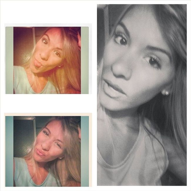 Cada día trae nuevas sorpresas ✨ disfrutar de ellas es tu mejor opción. Night y'all ☺ SweetNight Selfie Jwgirl Jw collage faces pijama kiss tongue girl