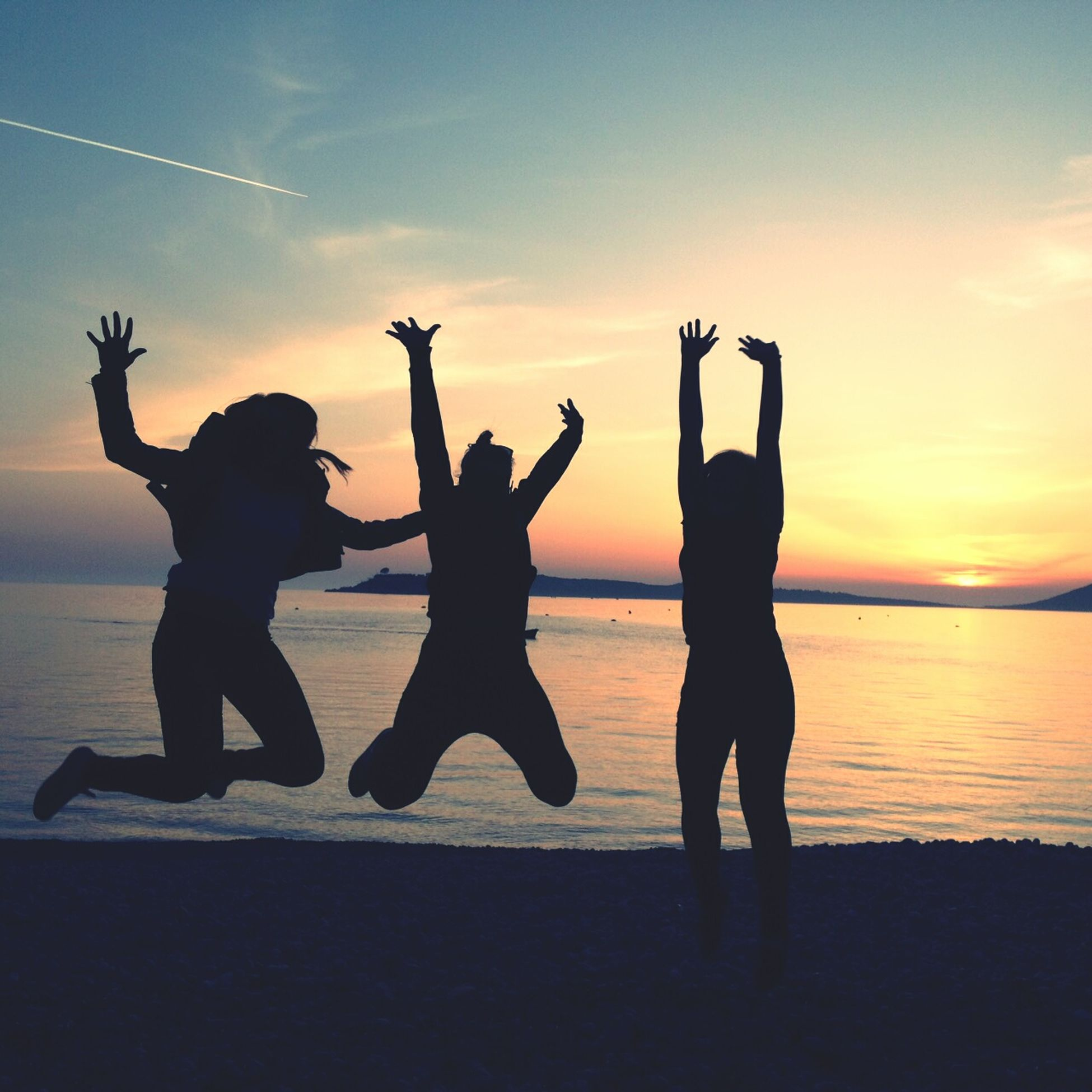 Montenegro žanjice Sunset Friends ❤ 2016 Picture Jump!!!