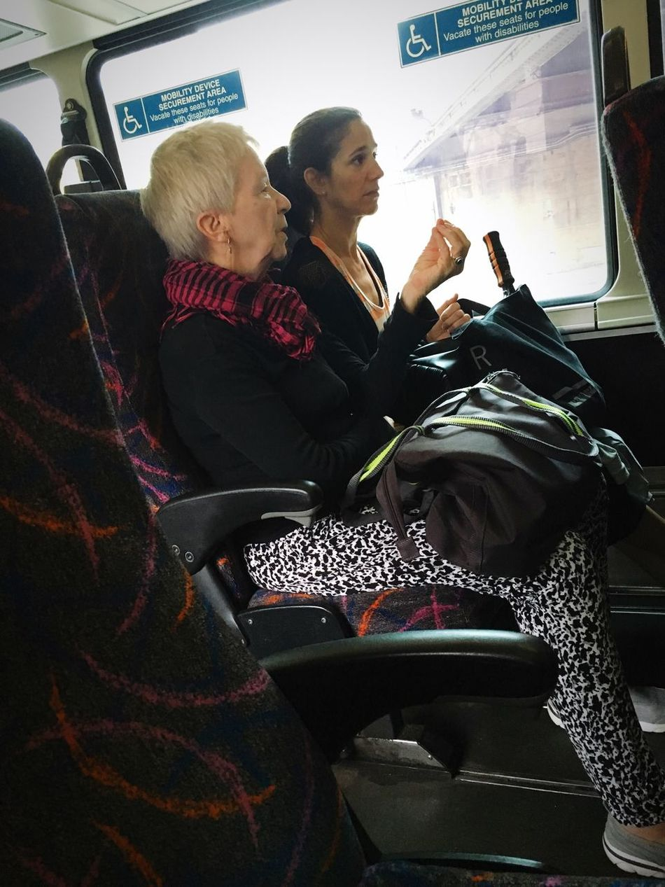 Riding The Bus